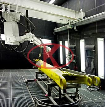 桥架式喷砂机器人系统