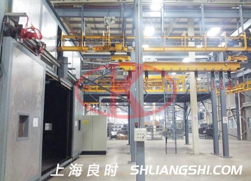 工件悬挂输送系统及智能自动化控制系统
