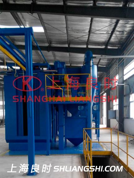 全自动热水器内胆喷砂机—上海良时为太阳能科技公司